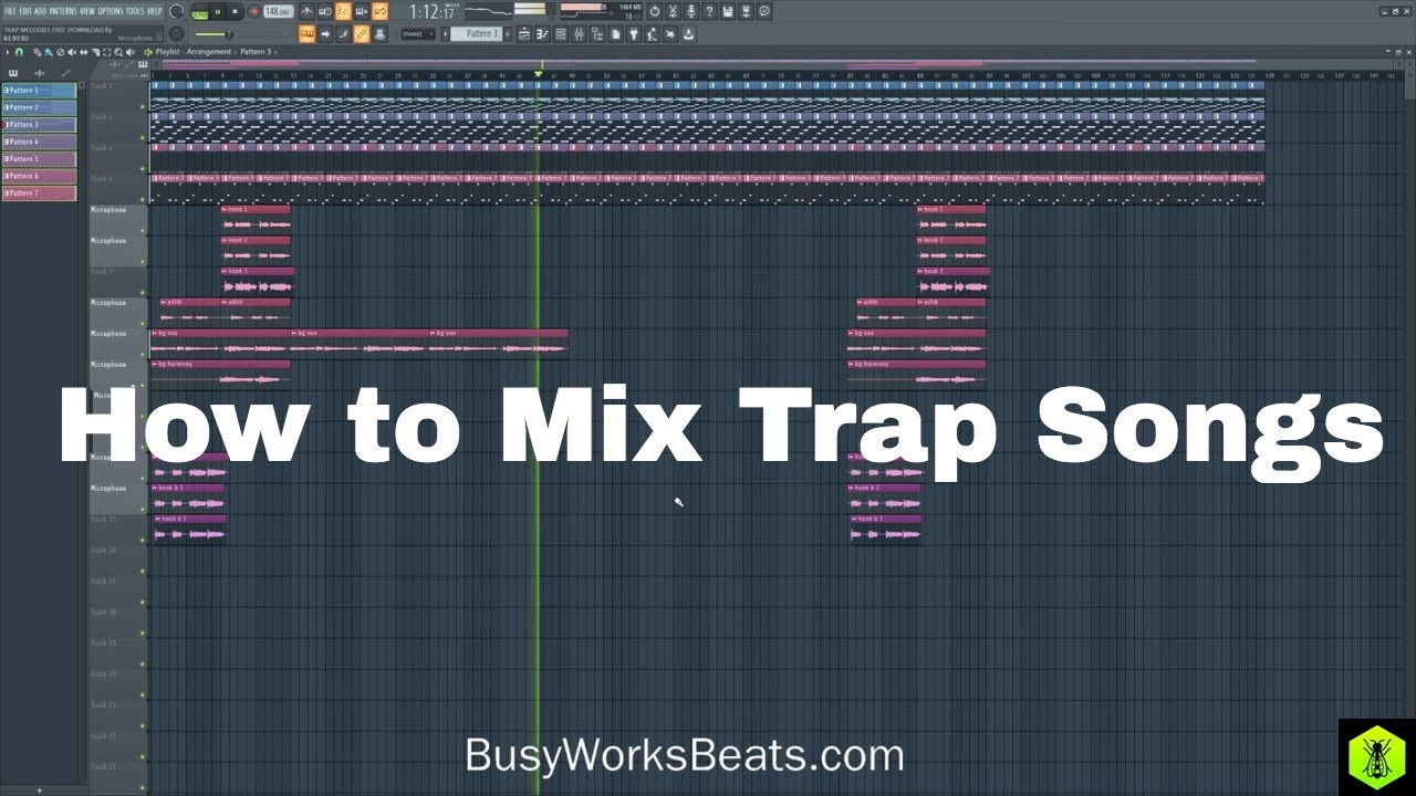 How to Mix Trap Beats (FREE PROJECT DOWNLOAD) 4/4