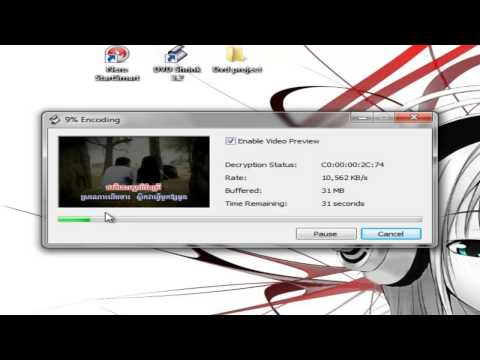 How to compile Karaoke video into one single Dvd (khmer) Cambodia