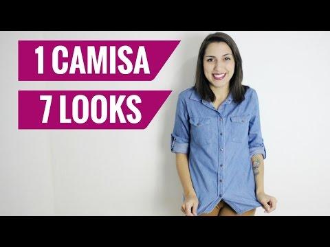 7 formas de usar camisa jeans