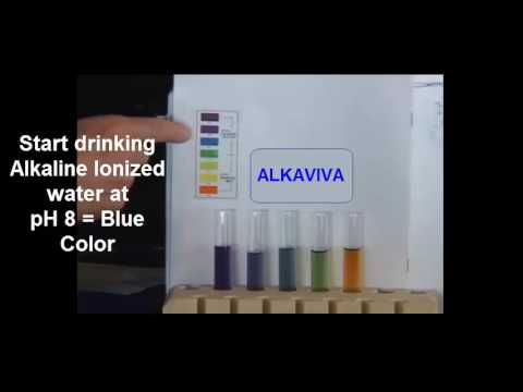 Ph Chart And Uses Of Alkaline/Acidic Water - Youtube