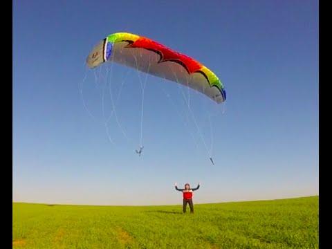 paragliding Ground handling,  training