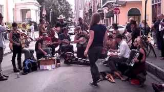 Street Musicians in New Orleans on Royal Street