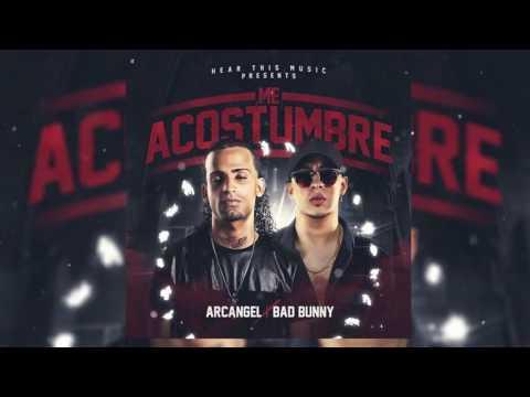 Me Acostumbre - Arcangel, Bad Bunny (Audio Oficial)