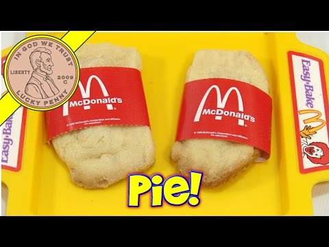 2004 Easy Bake Oven, LPS-Dave Makes McDonald's Apple Pies!