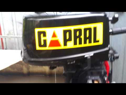 2015 Capral 5 hp Yamaha clone outboard motor 2 stroke (dwusuw)