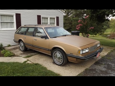 """1987 Chevy Celebrity 2.5L Wagon Start Up And Tour """"Maggie"""""""