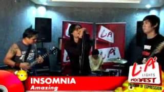 Insomnia - Amazing (High Quality Format Video)* @ LA LIGHTS INDIE FEST 2009