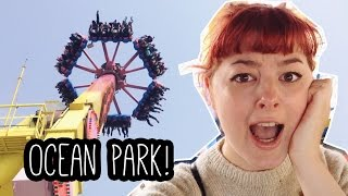 Ocean Park! Hong Kong Travel Vlog #4