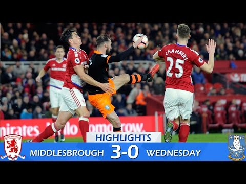 Middlesbrough 3 Sheffield Wednesday 0 | Extended highlights | 2016/17 FA Cup third round
