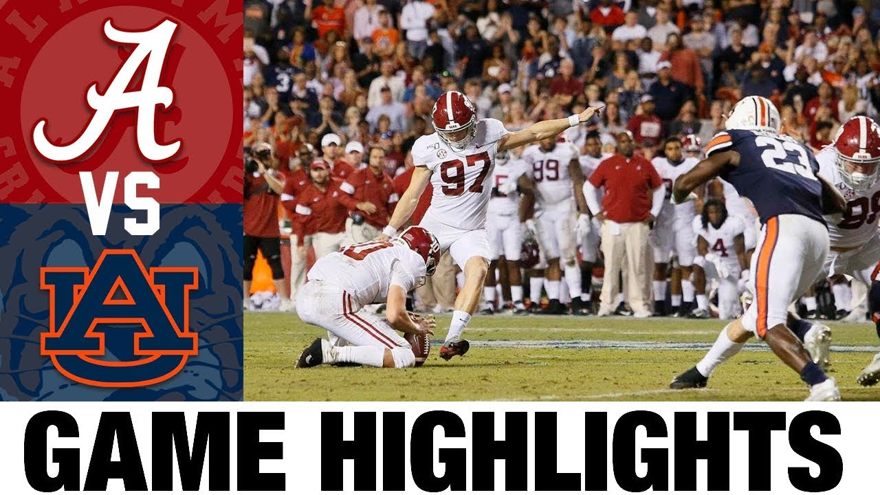 #1 Alabama vs #4 Auburn Highlights | 2013 College Football Highlights | 2010's Games