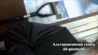 Поп из Троице-Сергиевой Лавры обнаглел?(Подробнее http://alt-gazeta.ru/index.php/zhizn/2787-video-s-hamom-v-ryase.html., 2012-06-30T22:22:03.000Z)