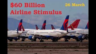 $60 Billion Airline Stimulus Package 26 March 2020