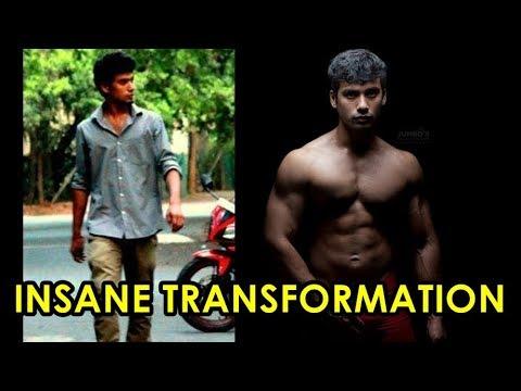 EXTREME NATURAL BODY TRANSFORMATION - INDIAN FITNESS MOTIVATION - Gauthaman Ramesh