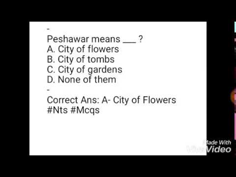 Latest Solved General Knowledge Mcqs Questions With Answers Job Tests NTS BTS PTS PPSC FPSC CSS PMS