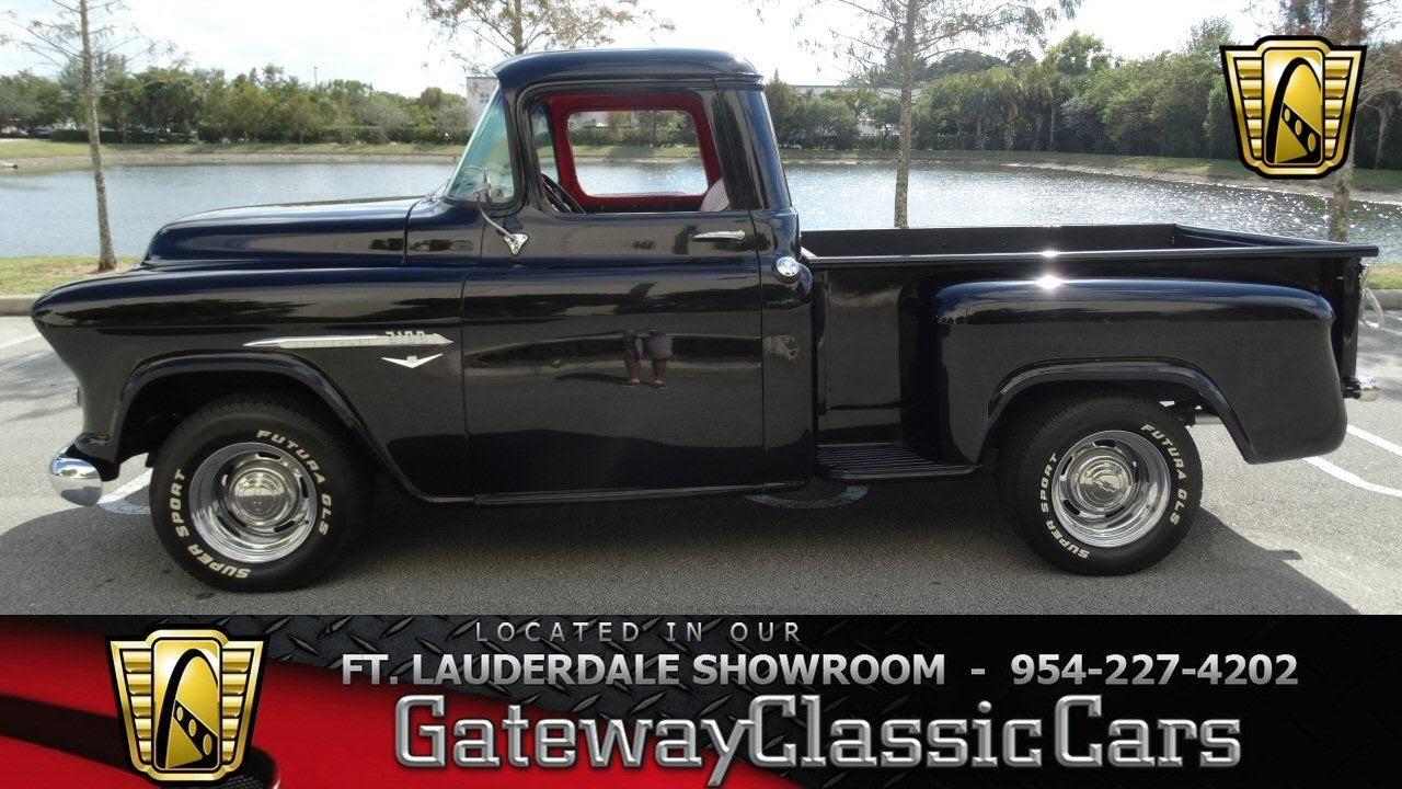 44-FTL 1955 Chevrolet 3100 - YouTube