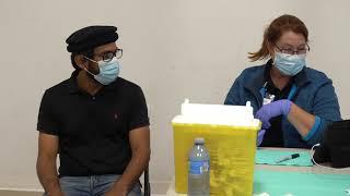 Canada's Mubarak Mosque hosts Vaccine Clinic