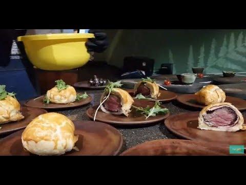 """Открытие мясного ресторана """"Wellington"""". Новозеландские стейки в Ярославле. Розыгрыш айфона"""