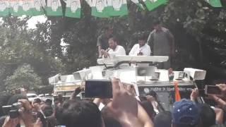 Rahul Gandhi  speech in thana prem nagar nagra jhansi