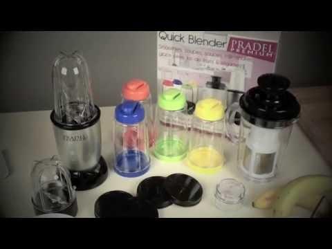 robot multifonctions quickblender pradel® - youtube