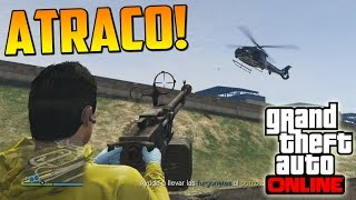 FINAL DEL ATRACO DE TREVOR! - ATRACOS A BANCOS GTA V ONLINE PS4 - Financiación Inicial #6 - Heist