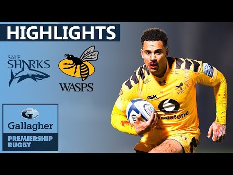 Sale 28-18 Wasps - HIGHLIGHTS | Red Card Drama In Intense Clash | Gallagher Premiership 2019/20