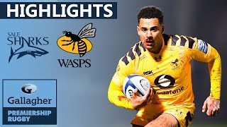 Sale v Wasps - HIGHLIGHTS | Red Card Drama In Intense Clash | Gallagher Premiership 2019/20