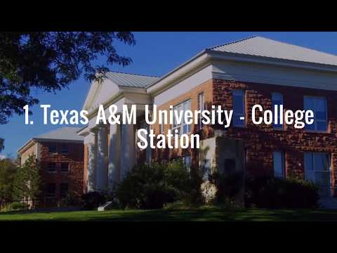 Best 4-year Colleges in Texas