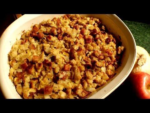 Make How To Make Apple Stuffing! - Stuffing Recipe - Collab w\ Joeysworldtour Snapshots