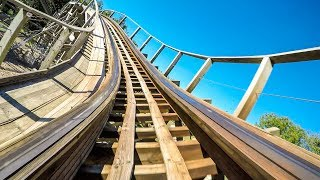 Prowler Roller Coaster Front Seat View! 60 FPS! AWESOME POV Worlds of Fun