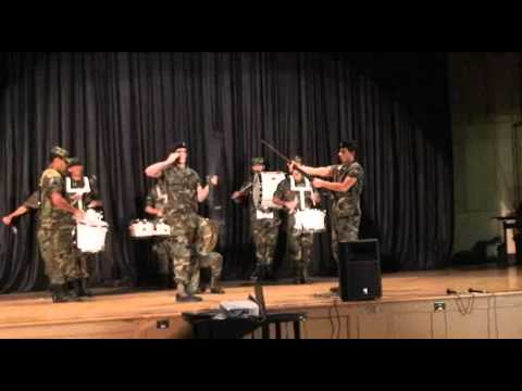 Franklin K lane campus Talent show /#1/ROTC Drum and Rifle