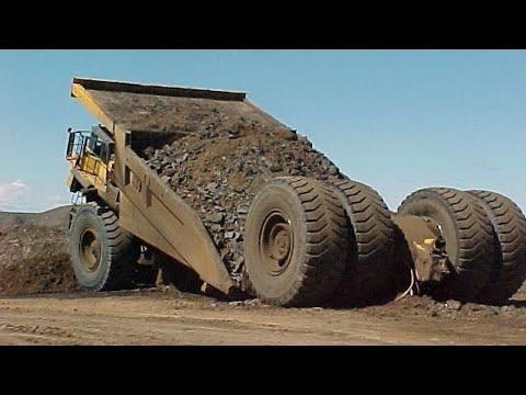 10 Extreme Dangerous Idiots Dump Truck Operator Skill - Biggest Heavy Equipment Machines Working