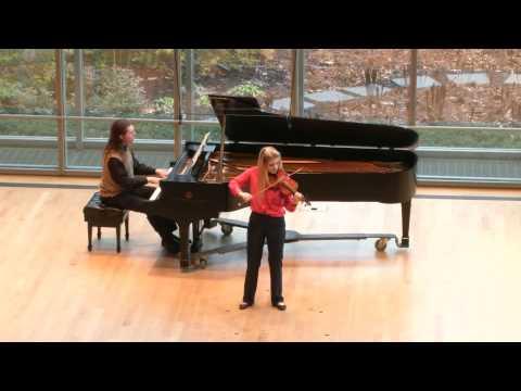 Brahms Violin Concerto Genevieve Smelser