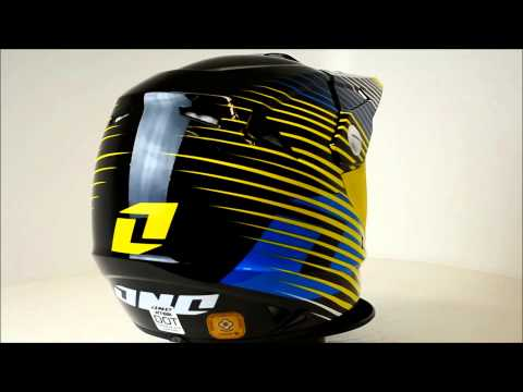 One Industries Atom Helmet Fragment Yellow - 360° Video
