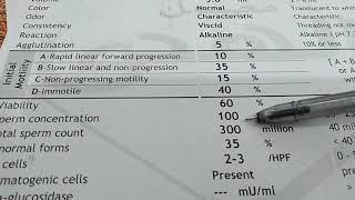 كيف تعرف تحليل الذكورة السائل المنو ى طبيعى S A Youtube