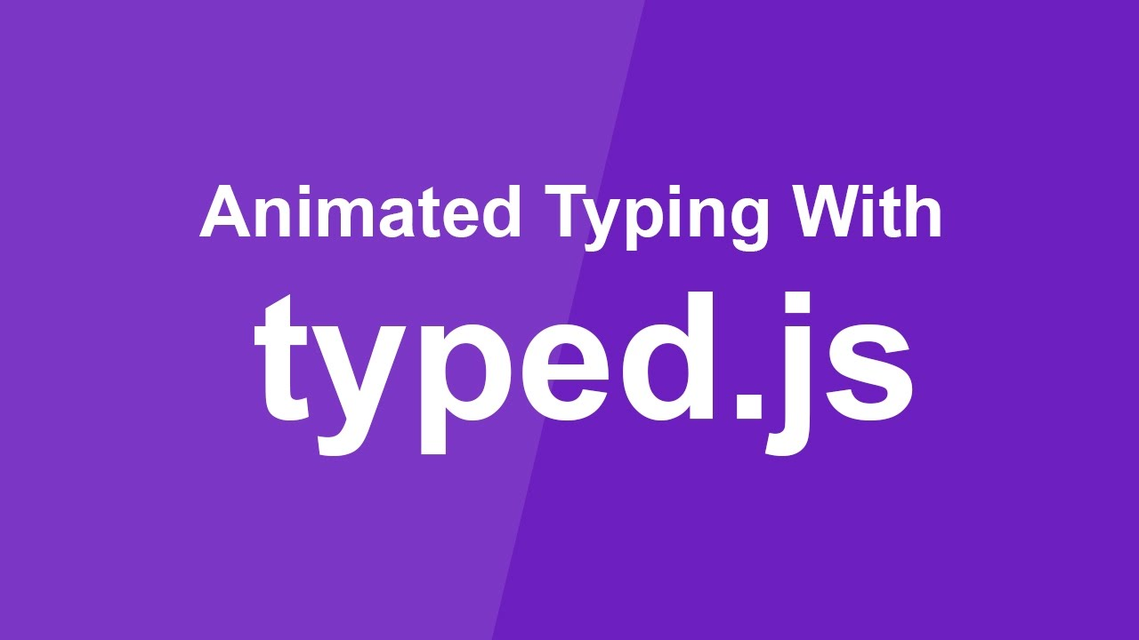 Animated Typing with Typed js - Simple jQuery Plugin Tutorial - Uploading  Soon