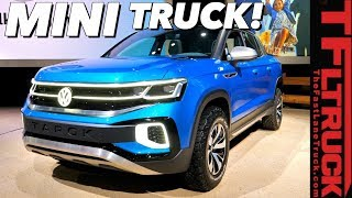 VW Tarok: Here is the Compact Truck You have Been Asking For! Everything We Know So Far