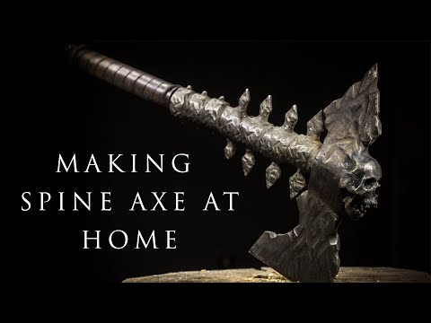 Making SPINE AXE from 2 Ordinary Amazon Axes