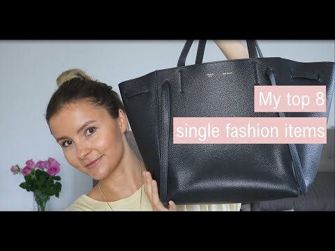 Less Is More: My Top 8 Single Fashion Items II The Geek Is Chic