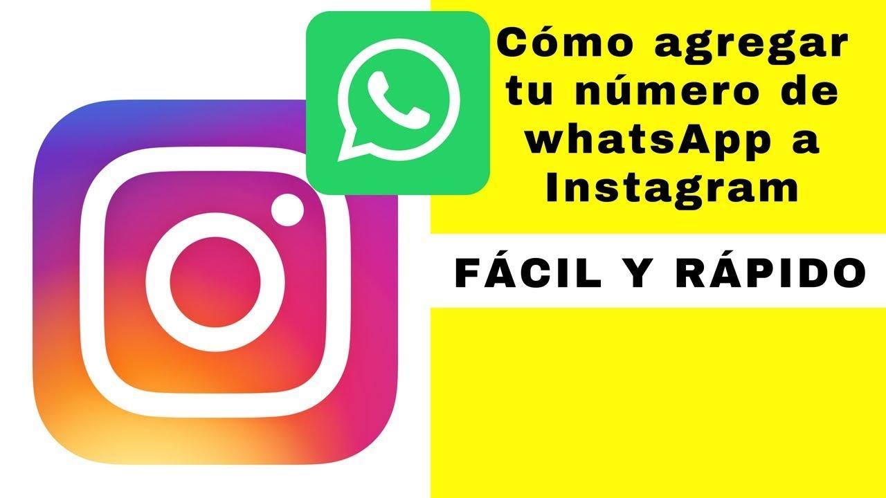 como poner el link de whatsapp en instagram