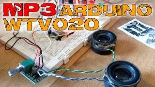 Audio module Arduino ad4 and Mp3 sound files