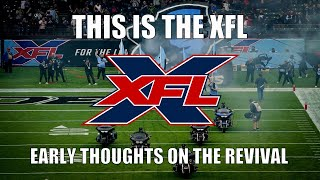 This is the XFL: Early Thoughts on the Revival