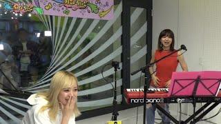 """アイドルグループ・ベイビーレイズJAPANの林愛夏と""""絶対的、鍵盤系ドラ..."""
