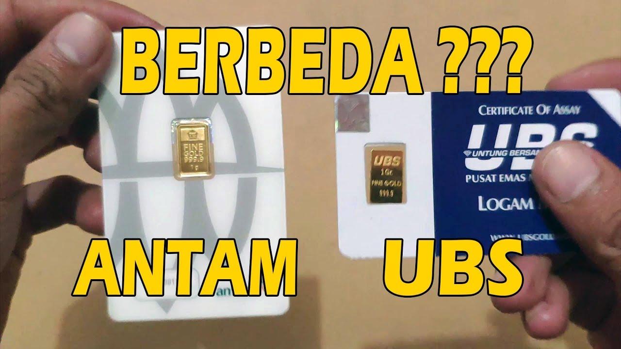Antam vs UBS