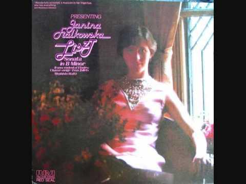 Janina Fialkowska  Liszt Sonata  Part 1 of 4