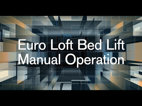 [ANLQ_8698]  Euro Loft Bed Lift Manual Operation from the Aria, Venetian and Tuscany  Motorhome - YouTube | Bed Lift Wiring Diagram |  | YouTube