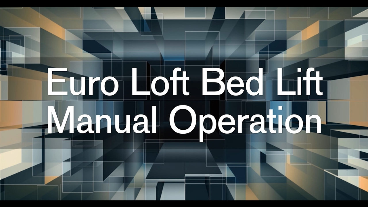 Bed Lift Wiring Diagram Trusted Diagrams 2010 Gmc Sierra Euro Loft Manual Operation From The Aria Venetian And Radio