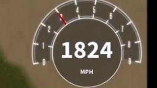 Reaching 2,000 MPH in Vehicle Simulator???? Roblox Vehicle Simulator