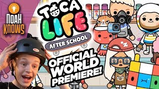 Toca Life: After School is now available from the App Store and Goo...