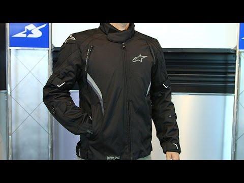 Alpinestars Motorcycle Jacket >> Alpinestars Megaton Drystar Jacket | Motorcycle Superstore - YouTube