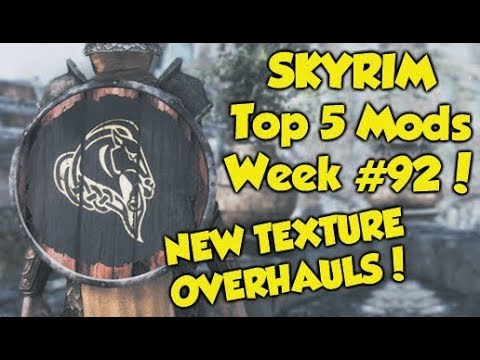 Skyrim Remastered Top 5 Mods of the Week #92 (Xbox One Mods) thumbnail